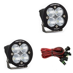 Baja Designs 587801 Squadron-R Sport LED Light Pods Pair - Spot Optics