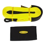 "Smittybilt CC220 2"" x 20' Recovery Tow Strap w/ Cover - Yellow"