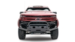 Fab Fours CS19-X4052-1 Matrix Bumper 2019 Chevy Silverado
