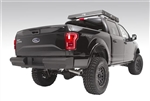 FF15-U3250-1 Fab Fours Black Steel Elite Bumper