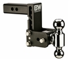 "B&W TS10037B Tow & Stow 2"" Receiver Hitch - 2"" & 2-5/16"" Ball Sizes"