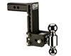 "B&W TS10040B Tow & Stow 2"" Receiver Hitch - 2"" & 2-5/16"" Ball Sizes"