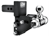 "B&W TS10064BMP Tow & Stow 2"" Receiver Hitch - 1-7/8"" & 2"" & 2-5/16"""