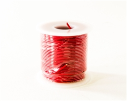 HOOK UP WIRE 22 GUAGE SOLID (100' / RED)