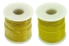 Solid Hook Up Wire - 22 Gauge, 100 Foot Spool - Yellow (Shade May Vary)