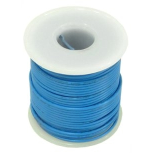 Electronix Express 22 AWG Solid Wire (Hook Up Wire) (Length - 25 Feet)
