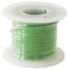 HOOK UP WIRE 22 GUAGE SOLID (25' / GREEN)