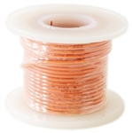 HOOK UP WIRE 22 GUAGE SOLID (25' / ORANGE)