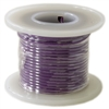 Solid Hook Up Wire - 22 Gauge, 25 Foot Spool - Purple (Shade May Vary)