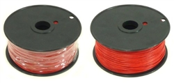 24 GUAGE SOLID (25' / RED)