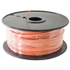 22 AWG Solid Wire - Orange Hook Up Wire (Length - 1000 Feet)