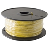 HOOK UP WIRE 22 GAUGE SOLID (1000' / YELLOW)