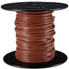 HOOK UP WIRE 24 GUAGE SOLID (1000' / BROWN)