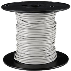 HOOK UP WIRE 24 GUAGE SOLID (1000' / GRAY)
