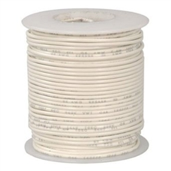 HOOK UP WIRE 24 GUAGE SOLID (1000' / WHITE)