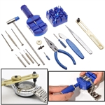 16-Piece Watch Repair Kit for Battery Replacement, Band Changes, Adjustments