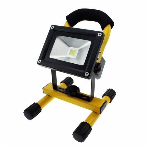 Led Flood Light Rechargeable 20w: 20W LED Flood Light, Portable Rechargeable Bright LED