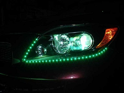Led strip lighting for car home special effects green 30 led strip lighting for car home special effects green 30 lights 60cm mozeypictures Image collections