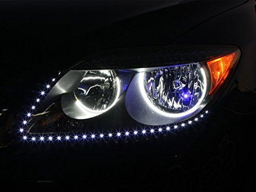 Led strip lighting for car home special effects cool white 9 led strip lighting for car home special effects cool white 9 lights 15cm aloadofball Images