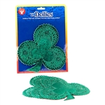"HyGloss Green Foil Shamrock 6"" 12pk."