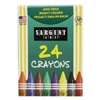 SARGENT ART 24 PACK CRAYONS