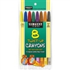 SARGENT ART TWIST UP CRAYONS 8PK