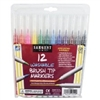 SARGENT ART WASHABLE BRUSH TIP MARKERS 12 PK