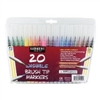 SARGENT ART WASHABLE BRUSH TIP MARKERS 20 PK