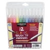 SARGENT ART CLASSIC BRUSH TIP MARKERS 12 PK