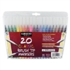 SARGENT ART CLASSIC BRUSH TIP MARKERS 20 PK