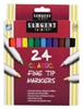 SARGENT ART CLASSIC FINE TIP MARKERS 24 PK