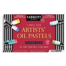 SARGENT ART ARTISTS OIL PASTELS LARGE 12 PK