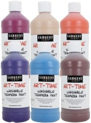 Art Time Tempera Paint Non Toxic