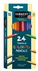 SARGENT ART TRIANGULAR COLORED PENCILS 24 PK