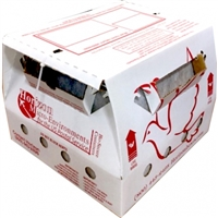 NEW Vented 3 Bird Shipping Box w/ Dividers