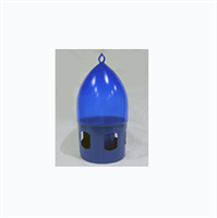 Blue 5 Liter Drinker with top ring