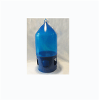 Blue 7 Liter Drinker with Top Ring