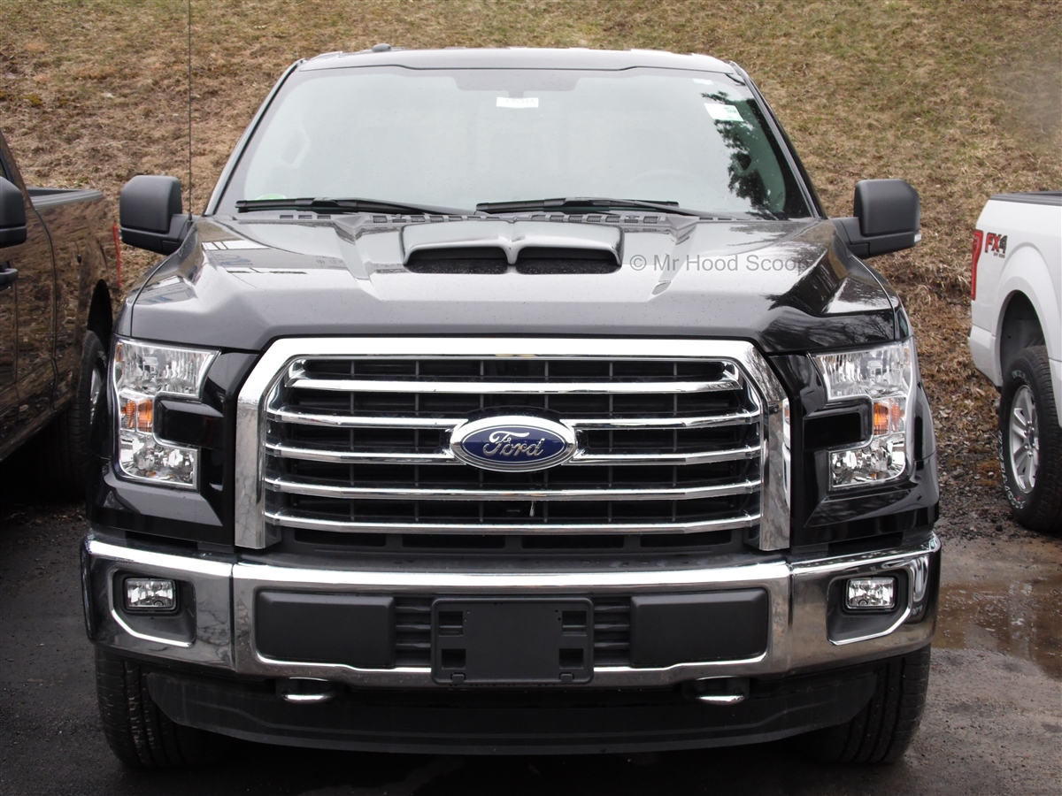 2015 Ford F150 Grill >> 2015 2018 Ford F 150 F150 Hood Scoop Kit With Grille Inserts Hs002 Unpainted Or Painted