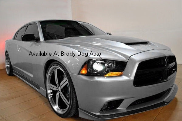 2011 2012 2013 2014 Dodge Charger Ram Air Hood With Carbon Fiber