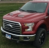 2015, 2016, 2017, 2018 Ford F150 Ram Air Power Hood Tonka Style 811552