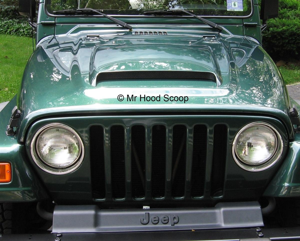 Jeep Wrangler Hood Scoop Hs009 By Mrhoodscoop Release Our