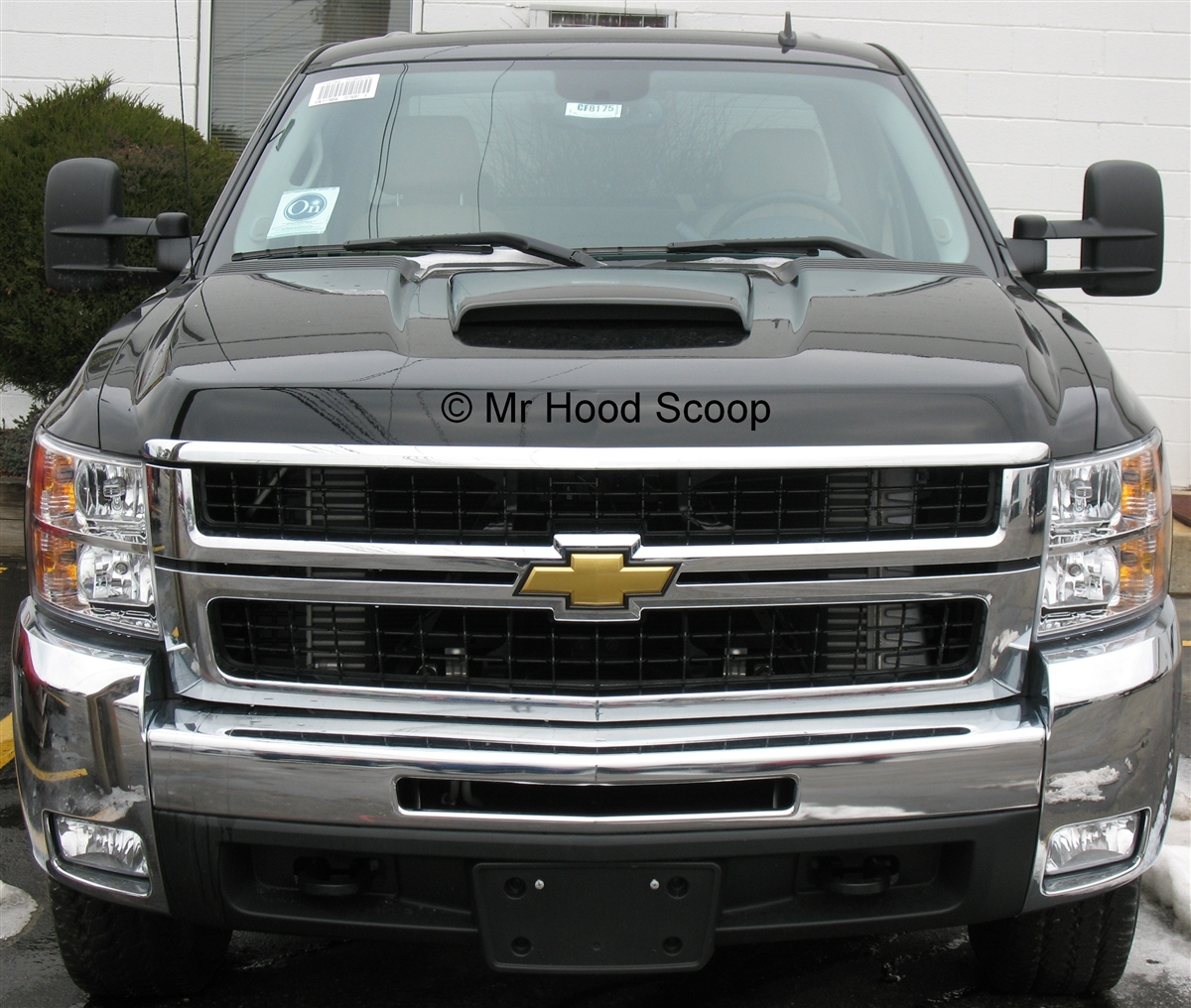 chevy silverado hood scoop hs003 by mrhoodscoop. Black Bedroom Furniture Sets. Home Design Ideas