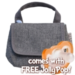 JJ Cole Pacifier Case - Heathered Gray