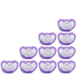 Photo of JollyPop Pacifier 10 Pack 0-3m Lavender