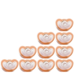 Photo of JollyPop Pacifier 10 Pack 0-3m Orange