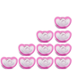 Photo of JollyPop Pacifier 10 Pack 0-3m Pink