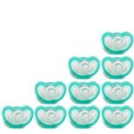 Photo of JollyPop Pacifier 10 Pack 0-3m Teal