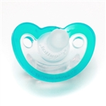 JollyPop Pacifier - Newborn size,Teal, Unscented
