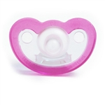 Photo of JollyPop Pacifier Preemie Unscented - Pink-Clear