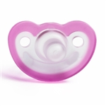Photo of JollyPop Pacifier 0-3m Unscented - Pink n Clear